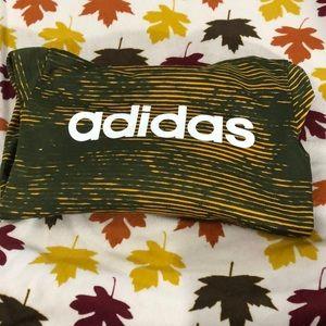 Boys adidas sweatshirt with hood size 8
